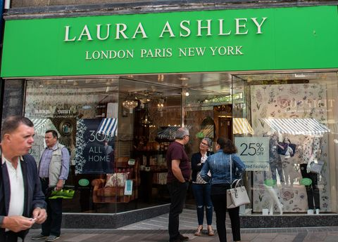 The front of Laura Ashley store in Port Street