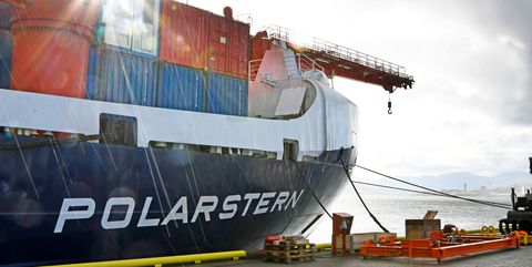NORWAY-GERMANY-RESEARCH-SHIP-CLIMATE-POLARSTERN