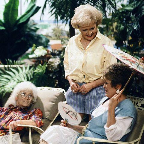 People, Sitting, Adaptation, Human, Grandparent, Plant, Leisure, Smile,