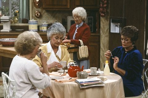 'The Golden Girls' Kitchen - Only 3 Chairs in 'Golden Girls' Kitchen