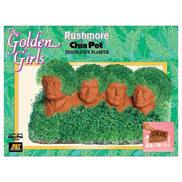 'the golden girls' mount rushmore chia pet form toynk