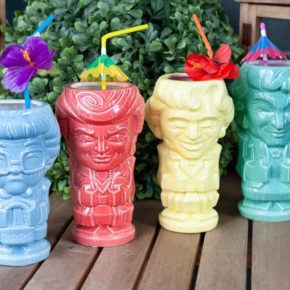 These New 'Golden Girls' Tiki Mugs Are the Only Things We're Sipping Out of This Summer