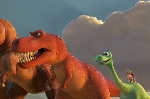 Dinosaur, Tyrannosaurus, Animation, Velociraptor, Jaw, Extinction, Animated cartoon, Organism, Mouth, Tooth,