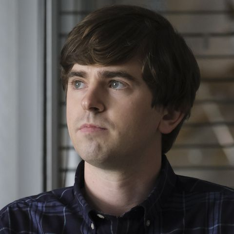 'the good doctor' cast freddie highmore