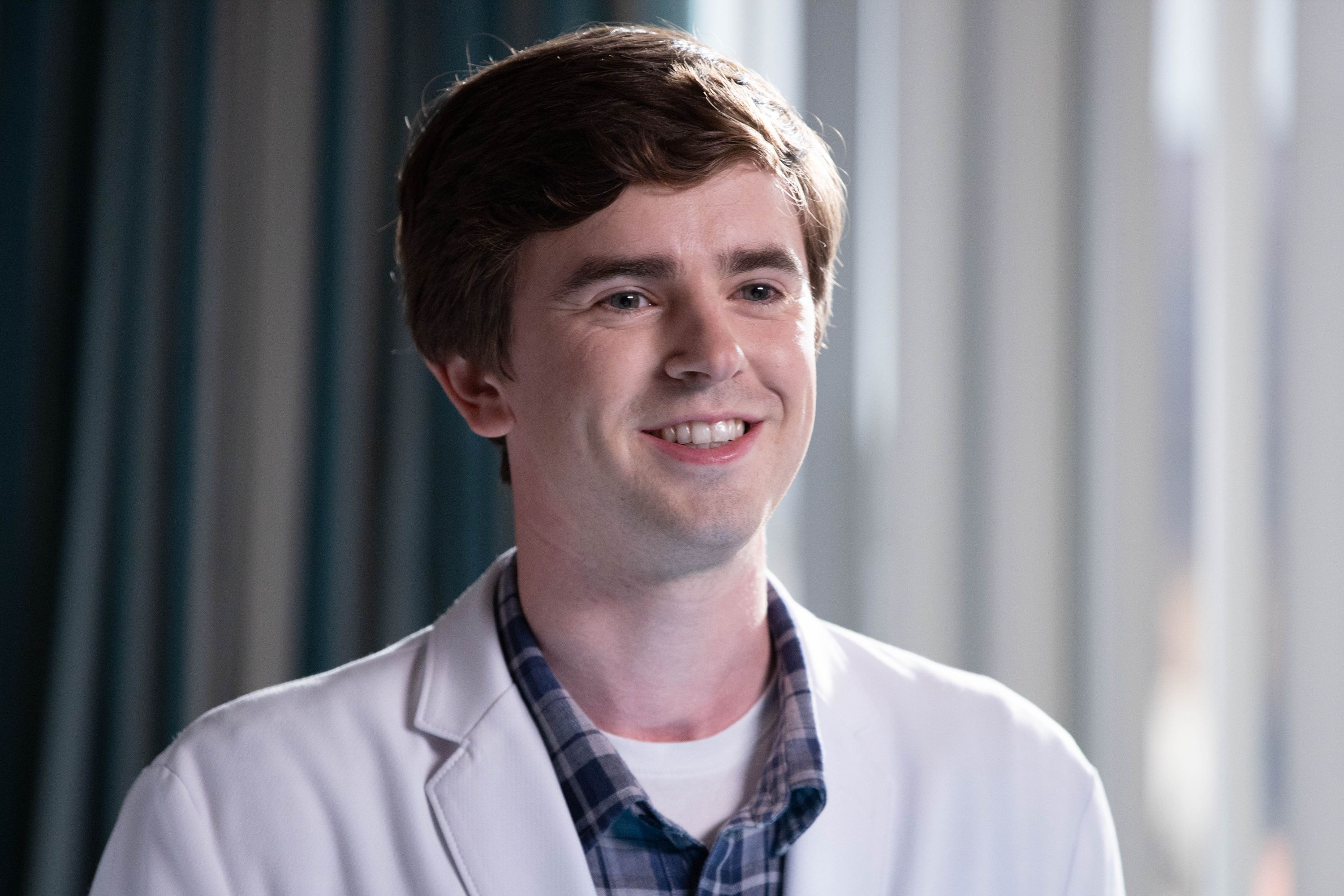 """'The Good Doctor' Star Freddie Highmore Says He Feels """"Very Fortunate"""" to Play Someone With Autism on TV"""