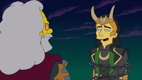 the simpsons the good, the bart and the loki
