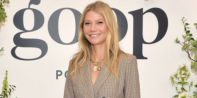 beverly hills, california   september 19 gwyneth paltrow attends gwyneth paltrow and kerry washington host a live episode of the goop podcast with banana republic at spring place on september 19, 2019 in beverly hills, california photo by stefanie keenangetty images for goop