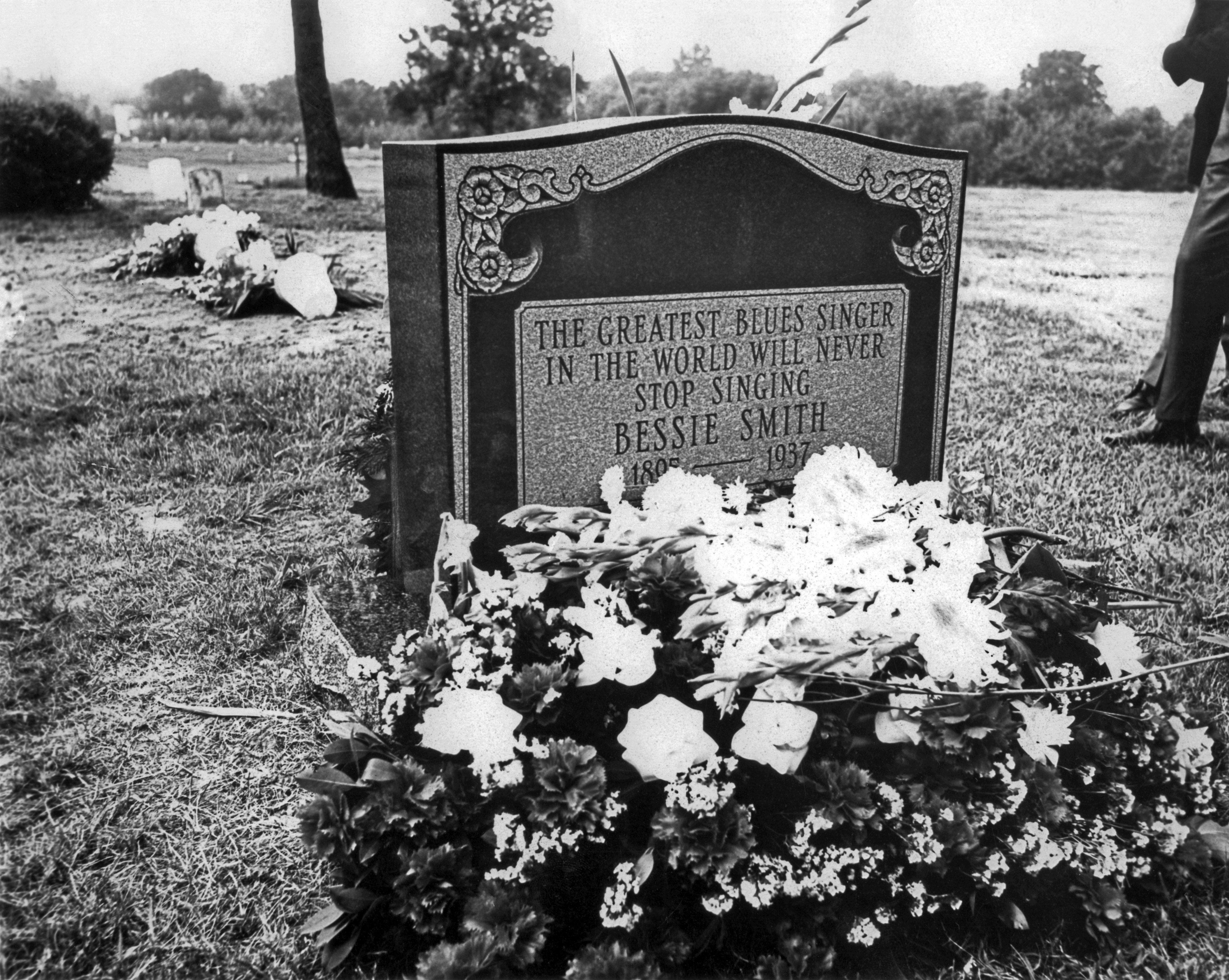 piatră de mormânt bessie smith