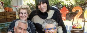 The Great British Bake Off For SU2C: Paul Hollywood and Prue Leith, Sandi Toksvig and Noel Fielding