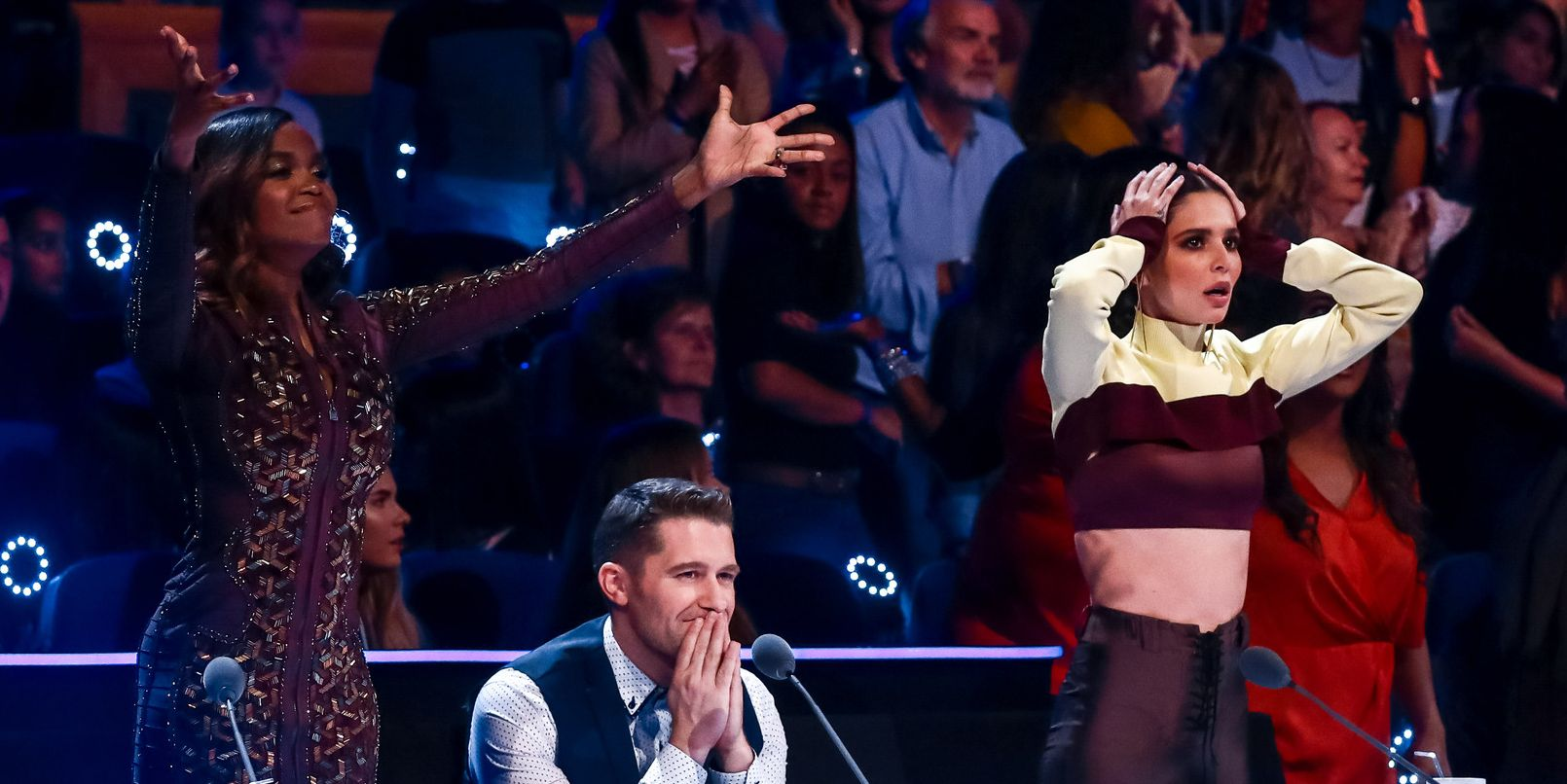 The Greatest Dancer – judges Oti Mabuse, Matthew Morrison and Cheryl