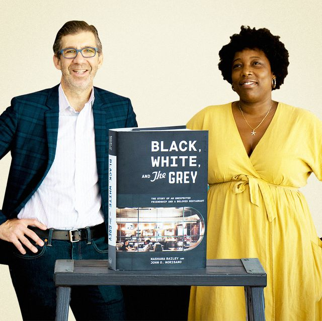 black, white, and the grey cookbook