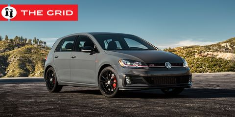 Land vehicle, Vehicle, Car, Hatchback, Volkswagen, Automotive tire, Volkswagen gti, Alloy wheel, Rim, Wheel,