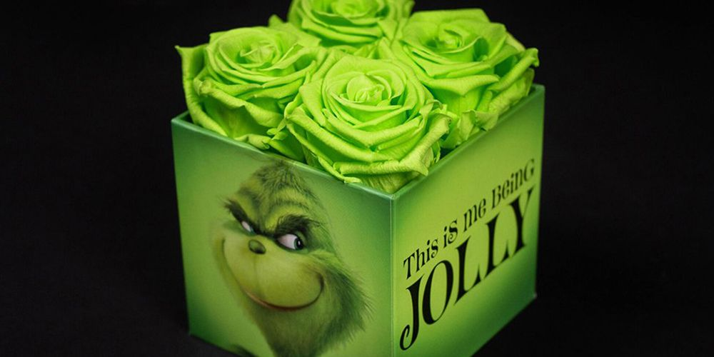 These Grinch-Inspired Roses Will Make Anyone's Heart Grow Three Sizes
