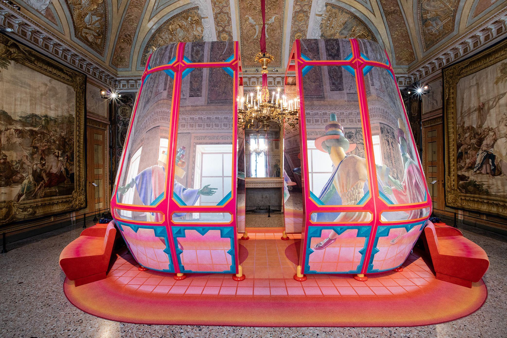 The Mythology of Palazzo Reale Recounted in Alcantara