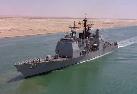 The U S  Navy Won't Bring Back Mothballed Ships to Boost the