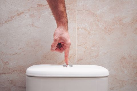 Never Flush With the Toilet Seat Up If You Want to Avoid