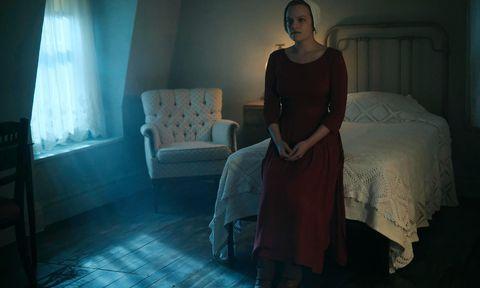 Dormitorio de la protagonista de la serie The Handmaid's Tale