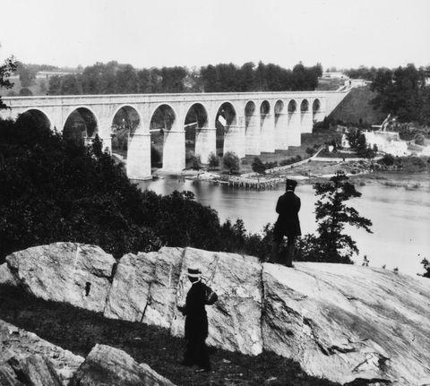 harlem high bridge croton aqueduct