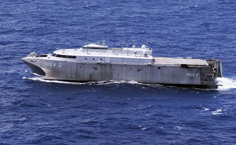 HI: La Marina de los EE. UU. Estrena nuevo aerodeslizador experimental y submarino no tripulado