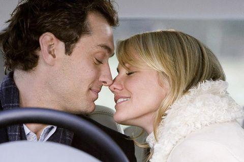 Cheek, Nose, Forehead, Interaction, Love, Romance, Kiss, Lip, Ear, Smile,
