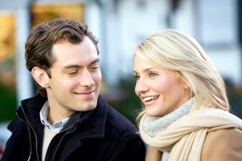 jude law and cameron diaz in 'the holiday'