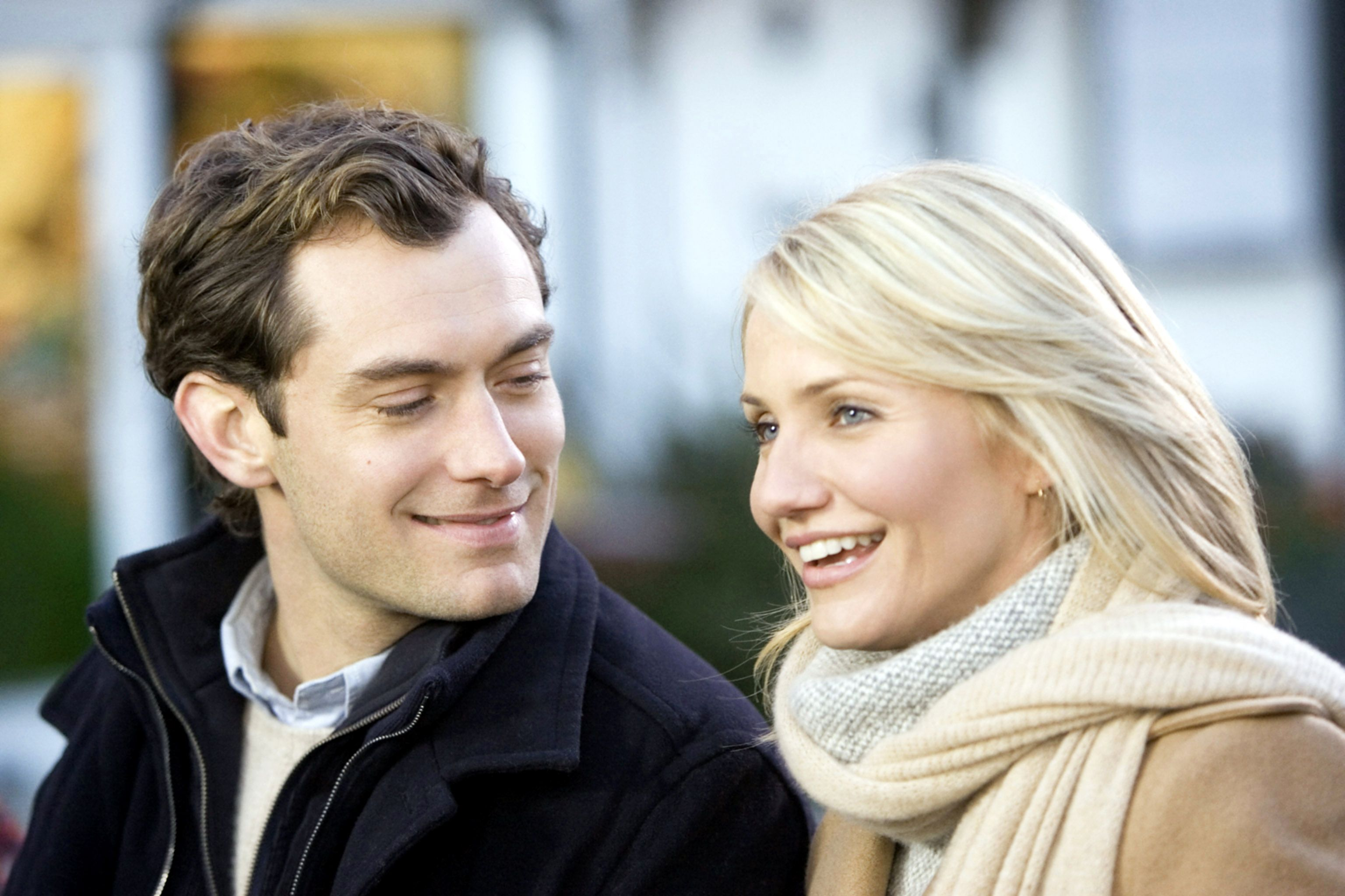 The Holiday (2006) Everyone knows that when the heroine claims she needs a vacation from love, that's when it hits the hardest. In this frequent Christmas rewatch, two down-on-romantic-luck women from across the pond (Kate Winslet and Cameron Diaz) swap houses for the holidays, and despite their intentions or expectations, each falls for a guy (Jack Black and Jude Law).