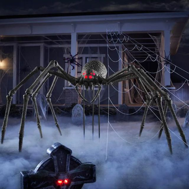 the home depot home accents holiday giant foot spider halloween decoration