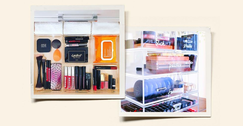 Watch These Celebrity Closet Organizers Satisfyingly Declutter 1,200+ Beauty Products