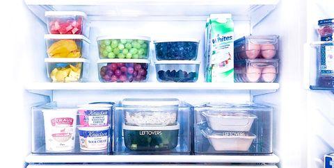 khloé kardashian's refrigerator organized by the home edit