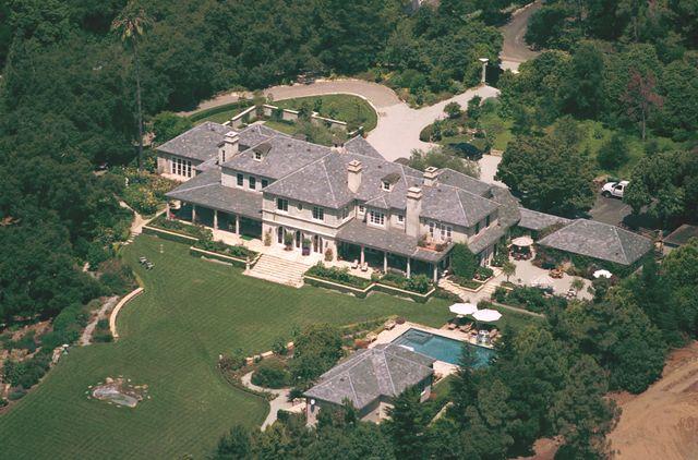 aerial photos of rob lowe''s california home