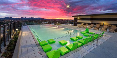 hub on campus tucson pool