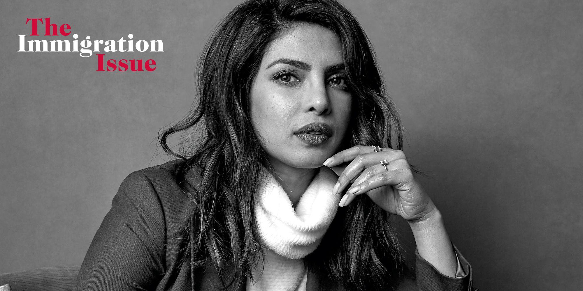 Priyanka Chopra on Being a Working Immigrant