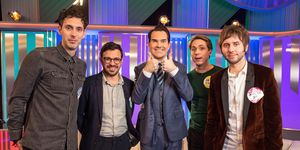 Blake Harrison, Simon Bird, Jimmy Carr, Joe Thomas, James Buckley, The Inbetweeners: Fwends Reunited, 10th Anniversary Special