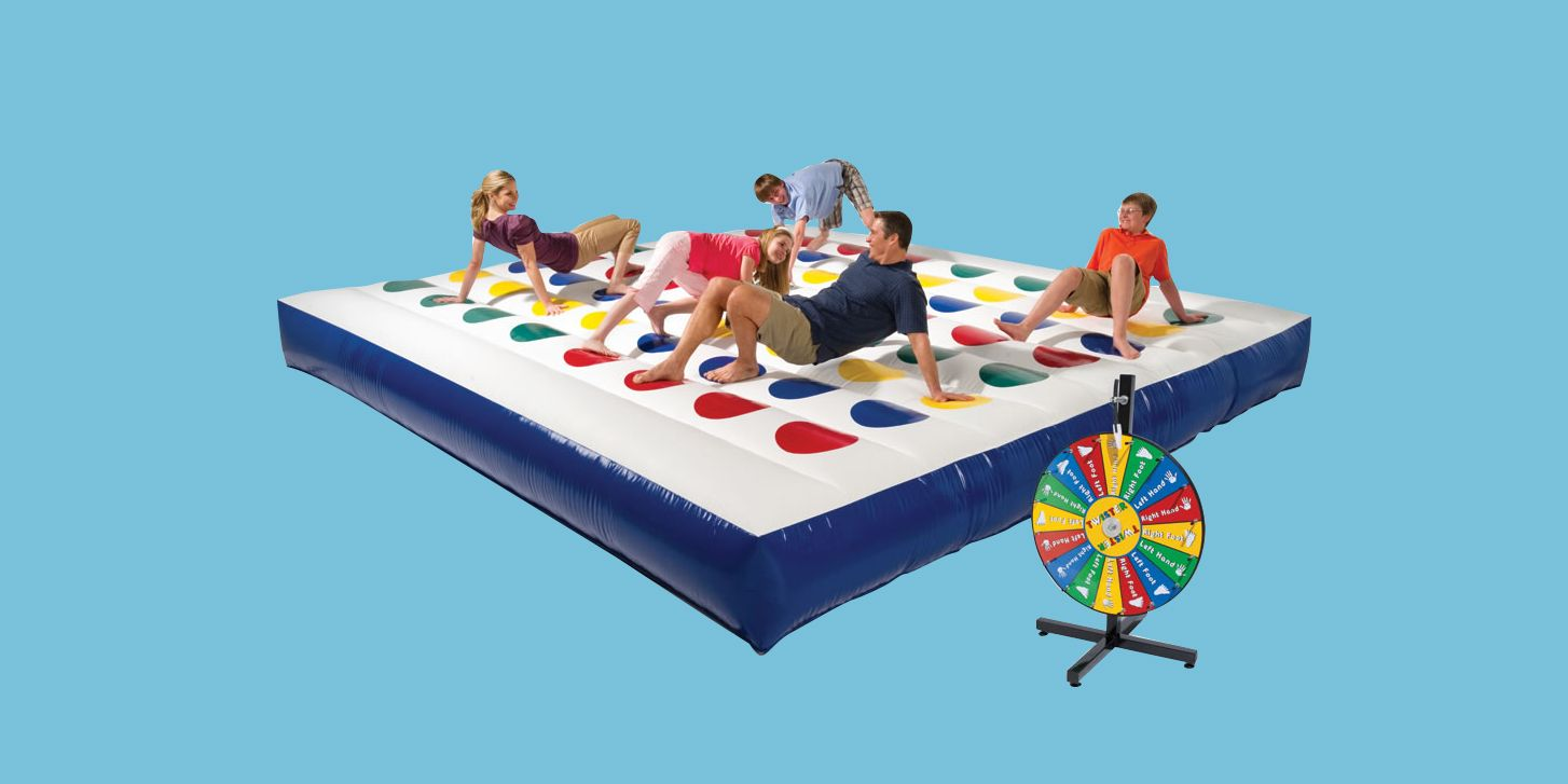 A Giant Inflatable Game of Twister Exists, and You Need it at Your Next Party