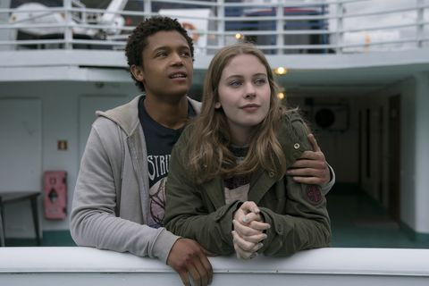 Percelle Ascott and Sorcha Groundsell in Netflix's The Innocents