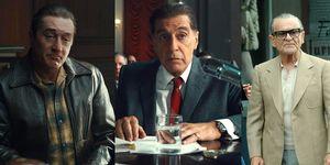 The Irishman cast Robert De Niro, Al Pacino, Joe Pesci