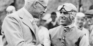 Tazio Giorgio Nuvolari und Ramsay MacDonald