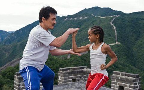 Jackie Chan, maestro de Jaden Smith en 'The Karate Kid'