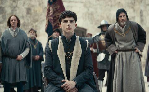The King, Timothee Chalamet
