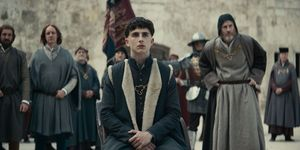 the king timothee chalamet netflix