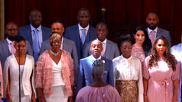 Image result for royal wedding gospel choir