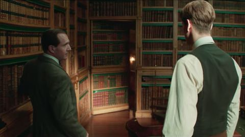 Ralph Fiennes and Harris Dickinson in The King's Man trailer