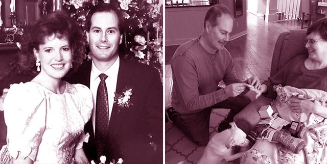 man re proposed to his wife of 26 years after she was diagnosed with breast cancer