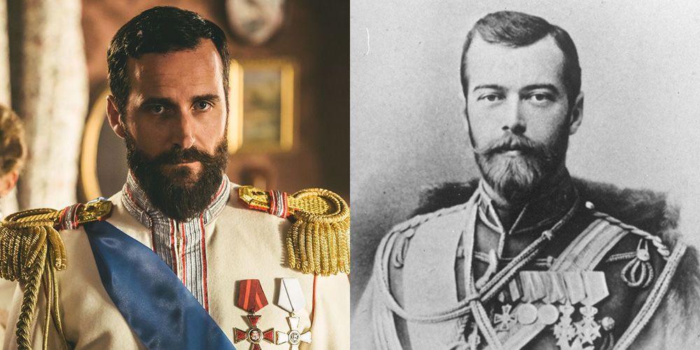The Last Czars Netflix Cast Vs The Real Life Romanov Family