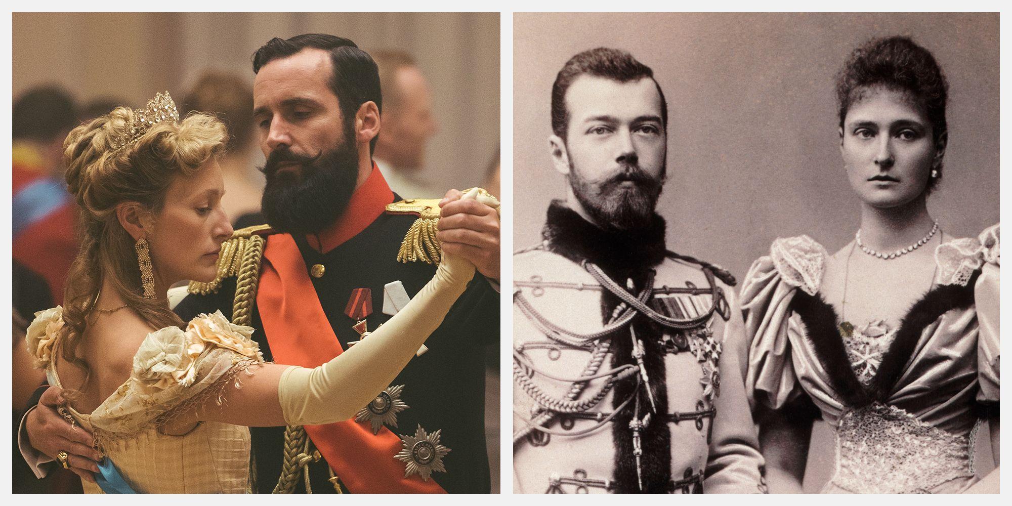 The Last Czars Cast on Netflix vs  the Real Romanov Family