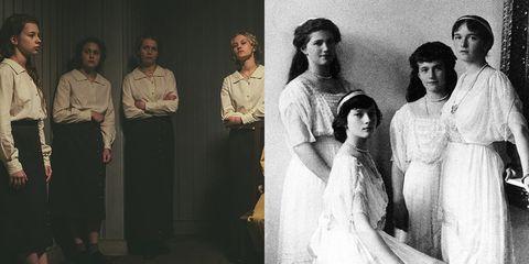 The Last Czars' Netflix Cast vs  the Real-Life Romanov Family