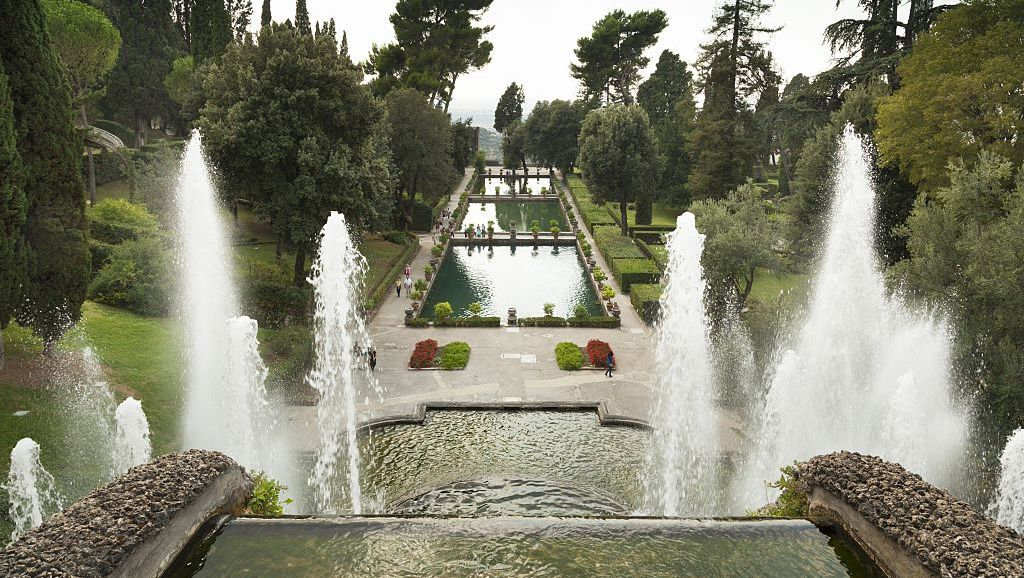 Villa d'Este in Tivoli and the Most Imitated Garden in Europe