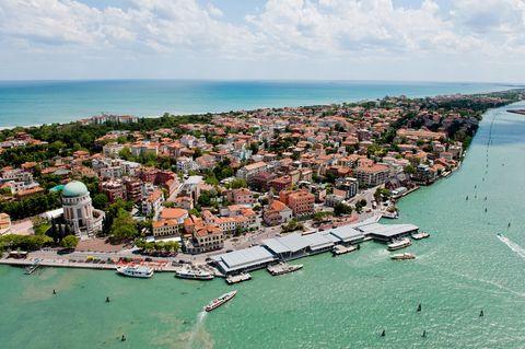 Venice (Italy), Lido island