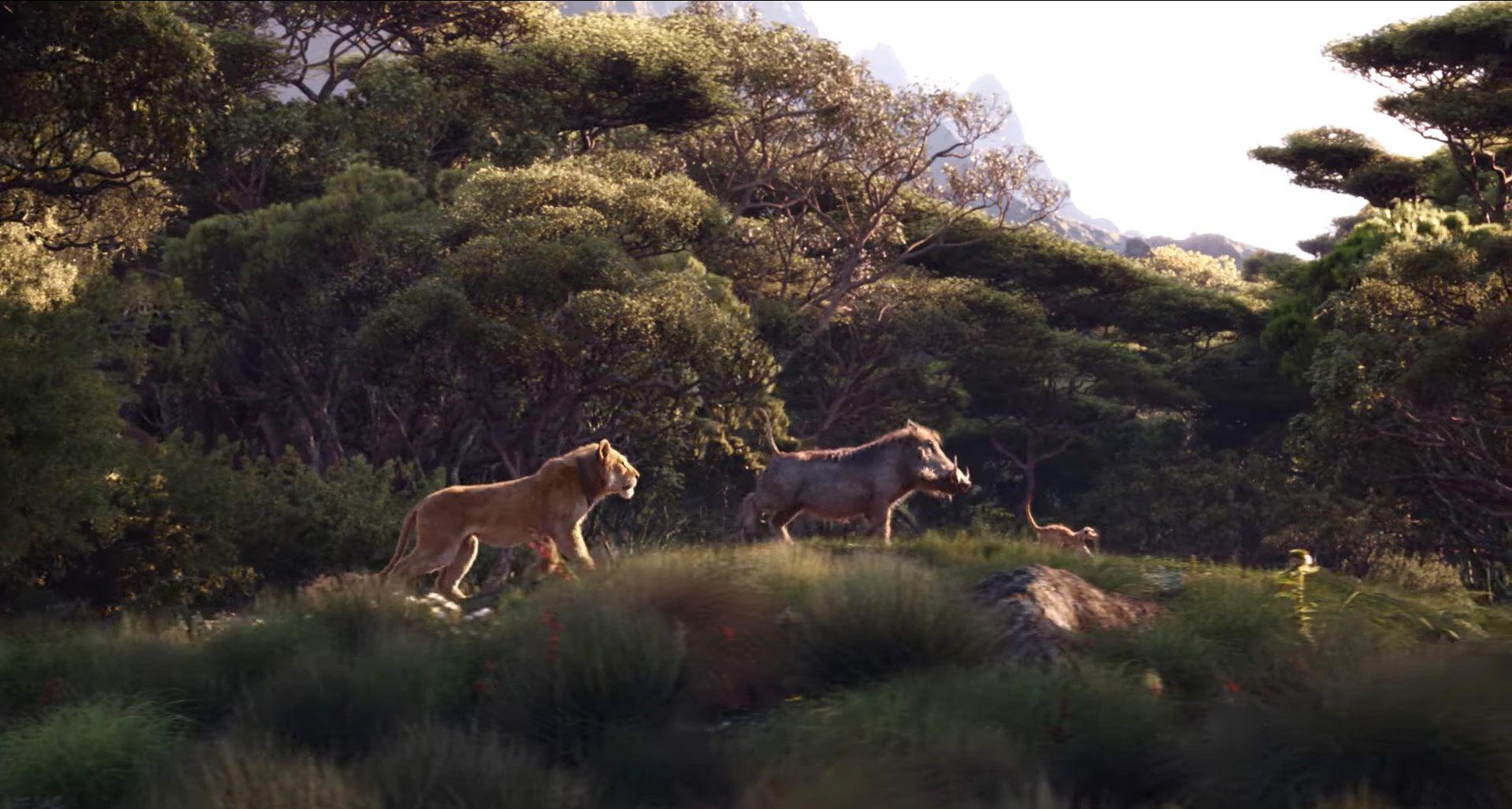Lion King S New Hakuna Matata Clip Hasn T Impressed Fans