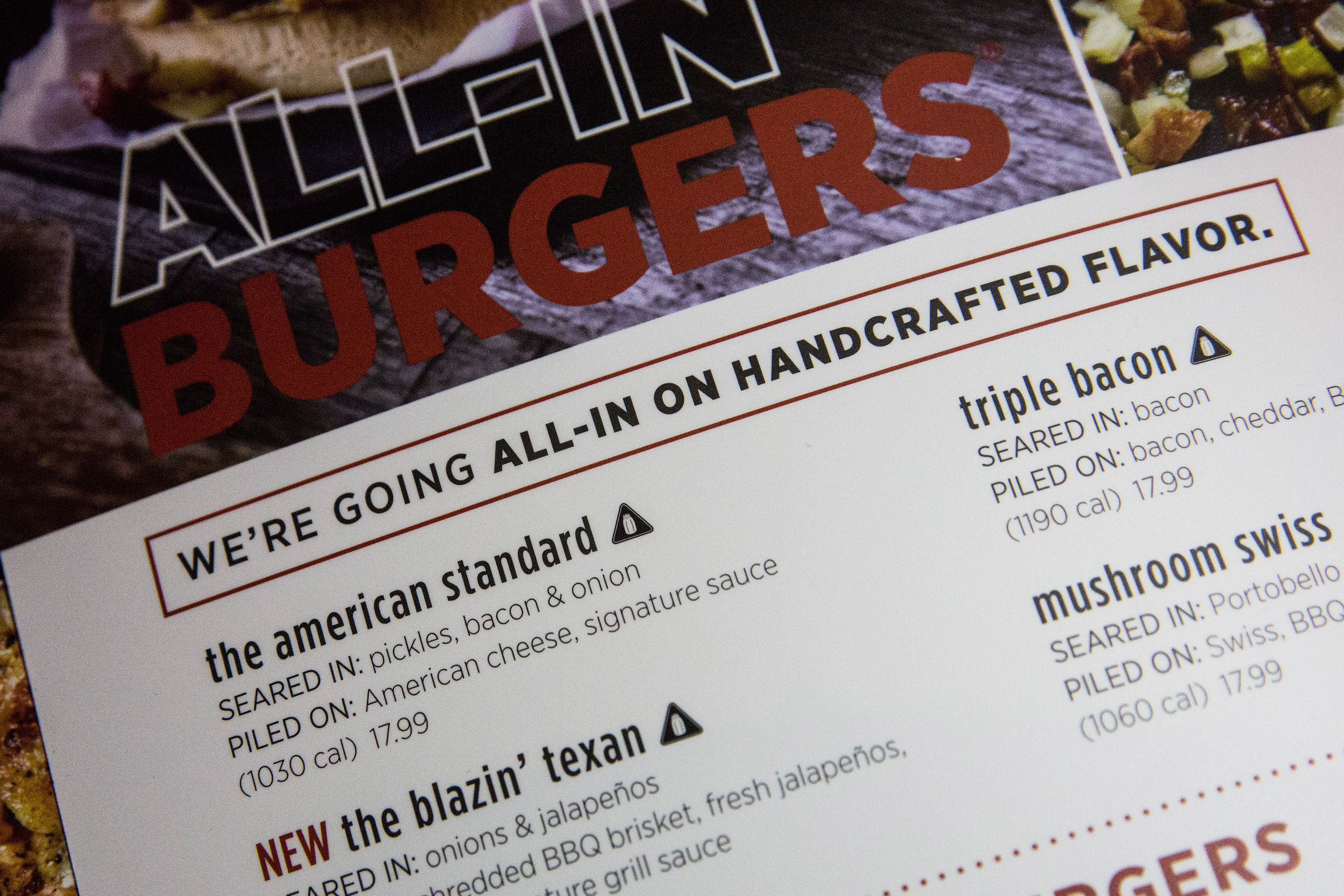New Sodium Warning Rule On Chain Restaurant Menus Takes Effect In NYC